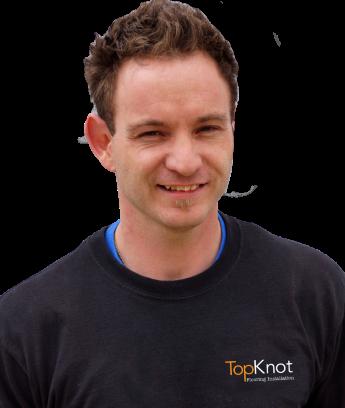 Mike Pelletier owner of Top Knot Flooring